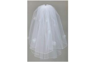 1928 Petal veil