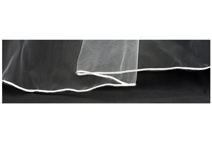 Rat-Tail / Rolled Satin Edge